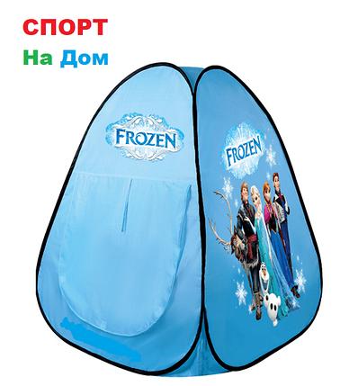 Детский игровой домик-палатка Холодное сердце   ( размеры 100 х 100 х 105 см ), фото 2