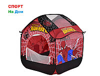 Детский игровой домик-палатка Spider Man   ( размеры 82 х 90 х 106 см )
