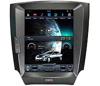 Магнитола CarMedia PRO для Lexus IS 2005-2012 TESLA STYLE/PX6/4ГБ-32ГБ