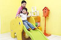Детская горка Haenim Toy Elephant EN-71