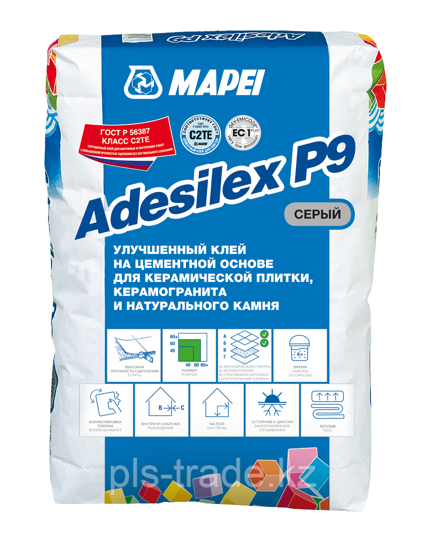 ADESILEX P9 клей цементный
