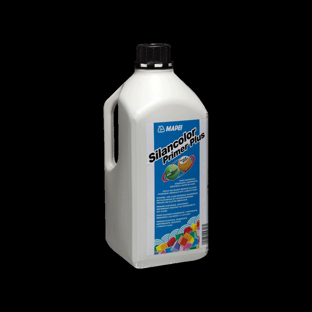 SILANCOLOR PRIMER PLUS грунтовка на основе силикона в водной эмульсии,