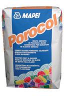POROCOL штукатурка для пенобетонных блоков