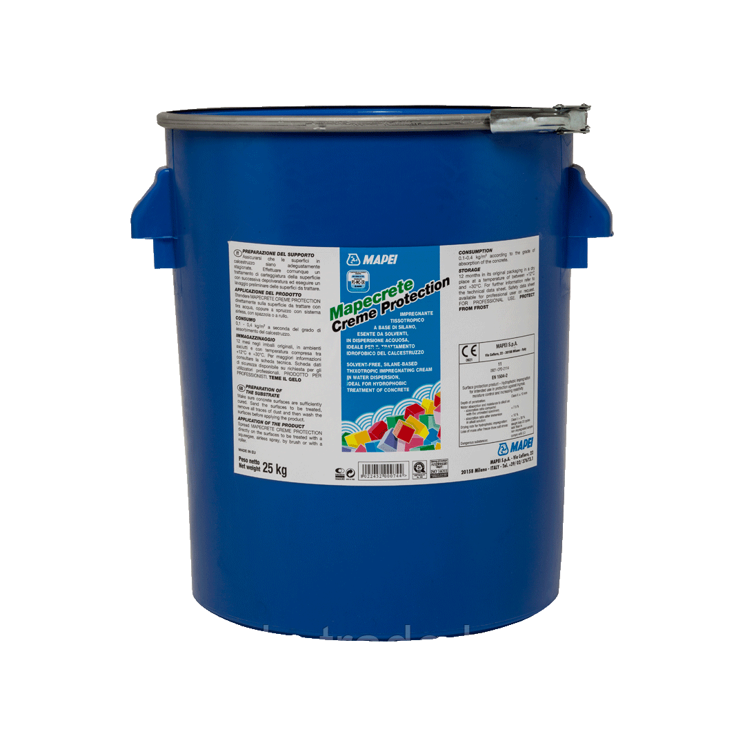 MAPECRETE CREME PROTECTION для защиты поверхностей против проникновения хлоридов