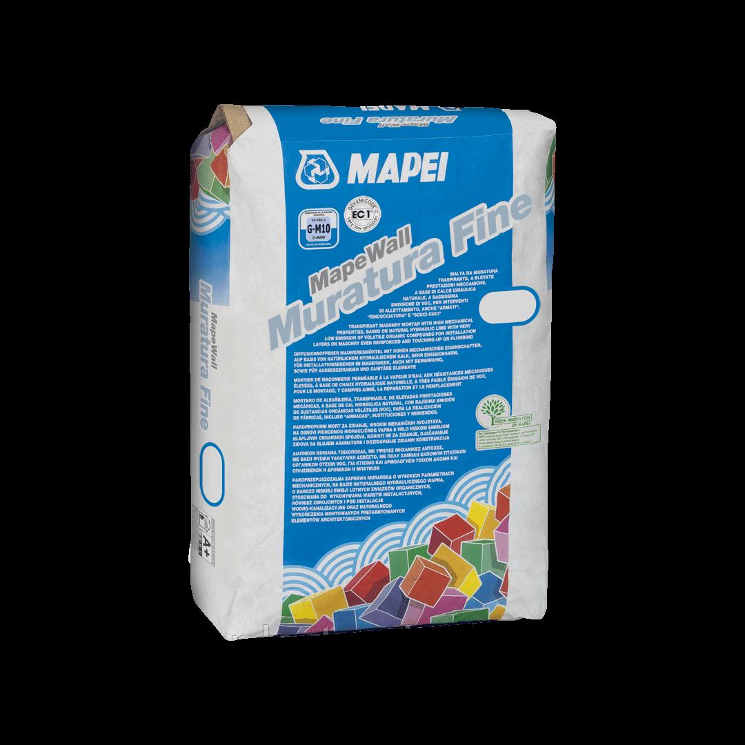 MAPEWALL MURATURA FINE состав для паропроницаемых кладочных растворов