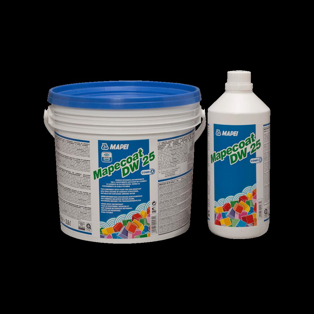 MAPECOAT DW 25 краска для бетонных покрытий контактирующих с питьевой водой