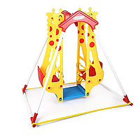 Качеля для двоих Haenim Toy Жираф