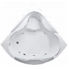 Акриловая гидромассажная ванна Гранд Люкс (Grand Luxe)155*155 см. Общий массаж. 1 Marka. Россия
