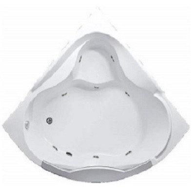Акриловая гидромассажная ванна Гранд Люкс (Grand Luxe)155*155 см. Общий массаж. 1 Marka. Россия, фото 2