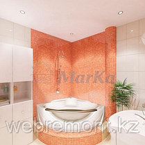 Акриловая гидромассажная ванна Гранд Люкс (Grand Luxe)155*155 см. Общий массаж,спина.1 Marka. Россия, фото 2