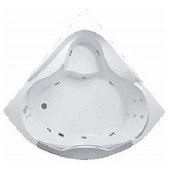 Акриловая гидромассажная ванна Гранд Люкс (Grand Luxe)155*155 см. Общий массаж,спина, ноги.1 Marka. Россия