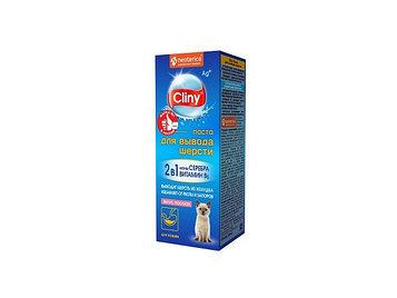 Паста для вывода шерсти Cliny для кошек, 75 мл