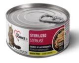1st Choice 85г Sterilized, КУРИЦА с САРДИНАМИ консервы для кошек (Фест Чойс)