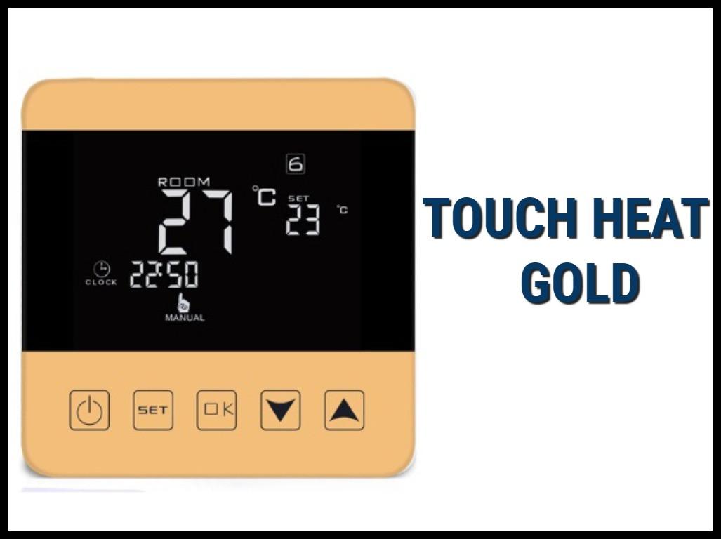 Электронный терморегулятор Touch Heat Gold