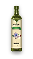 Virgin Organic Oil масло льняное холодного отжима
