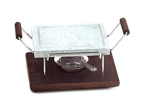 Каменный гриль Hot Stone Grill Bisetti 99123 сковорода для жарки мяса стейков овощей рыбы креветки