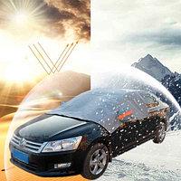Чехол зимний на лобовое стекло «Тент АНТИЛЁД» для автомобиля