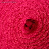 Пряжа трикотажная широкая 50м/170гр, ширина нити 7-9 мм (140 фуксия)