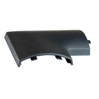 Угол плоский для напольного канала 75х17 мм APSP G, цвет серый ДКС