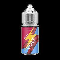 Жидкость для электронных сигарет  Elmerck Volt Salt 30 мл  Малина (25 и 45  мг)