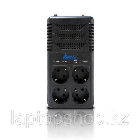 Стабилизатор (AVR) SVC AVR-1008-G, Мощность 800ВА/480Вт