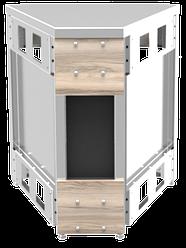 Прилавок нейтральный угловой внутренний 45 градусов LU20 Cap 45