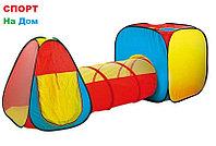 Детская игровая палатка с тоннелем ( размеры: 230 * 78 * 91 см)