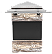 Прилавок нейтральный угловой внешний 45 градусов LU10 Cap 45, фото 3