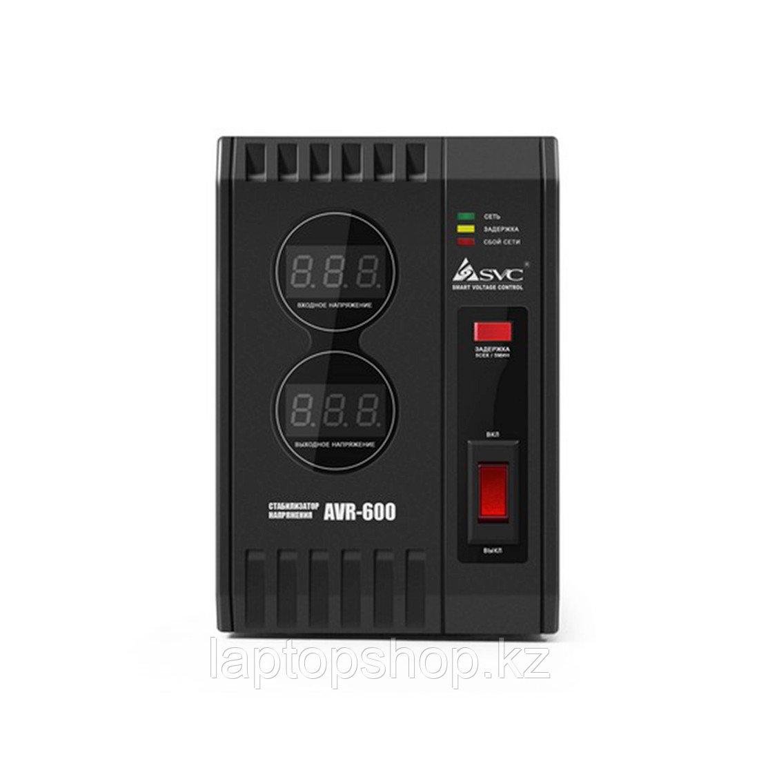 Стабилизатор (AVR) SVC AVR-600, Мощность 600ВА/600Вт