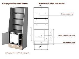 Тумба для мини-кухни Ф10Т/М2