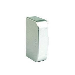 Заглушка 90х50 мм, цвет серый металлик ДКС