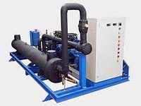 Чиллер Qхол= 370 кВт, Вода 528 м³/час, N= 158 кВт
