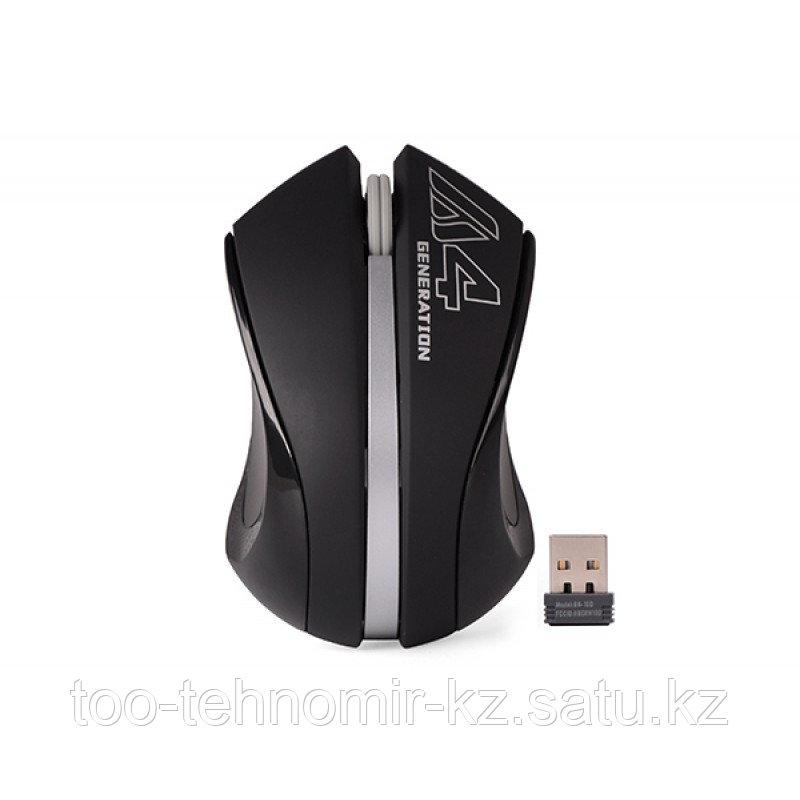 Мышь A4tech G3-310N Black+Silver Оптическая 2,4G USB 1000 dpi