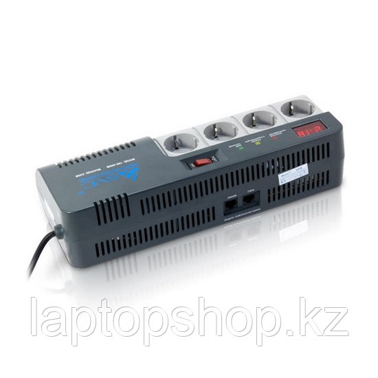Стабилизатор (AVR) SVC,AVR-1012-G, Мощность 1200ВА/720Вт