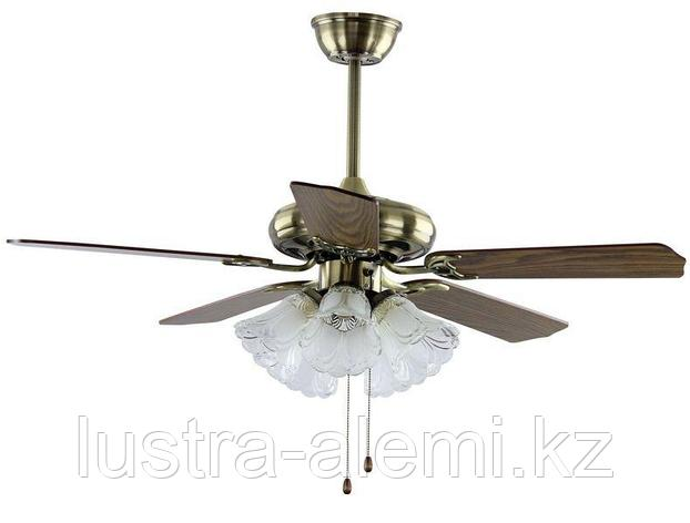 Вентилятор 42-614/5 Деревянный веер, фото 2