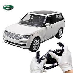 Радиоуправляемая Машинка Rastar Range Rover White. Люкс качество. Подарок.