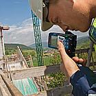 Лазерный дальномер (250 м) Bosch GLM 250 VF + BT150. Внесен в реестр РК., фото 5