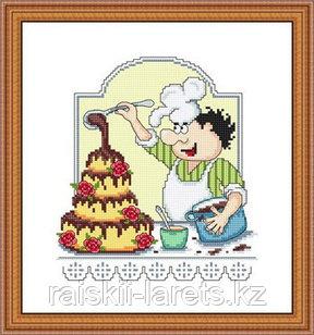 """Набор для вышивания крестиком """"Шоколатье""""  КТ-022"""