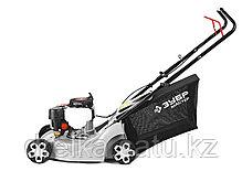 Газонокосилка бензиновая ЗУБР ГКБ-400П, МАСТЕР , 3 ступеней кошения (25-65мм), 40 л травосборник, 99 см3, фото 3
