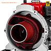 Мотопомпа бензиновая, ЗУБР МПГ-1000-80, для грязной воды, 1000 л/мин (60 м3/ч), патрубки 80 мм, напор 26 м, фото 4