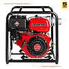 Мотопомпа бензиновая, ЗУБР МПГ-1300-80, для грязной воды, 1300 л/мин (78 м3/ч), патрубки 80 мм, напор 27 м, фото 2