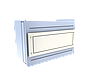 Прилавок нейтральный угловой внутренний 90 градусов LU20Steel90, фото 4