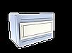 Прилавок нейтральный угловой внутренний 45 градусов LU20Steel45, фото 4