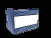 Прилавок нейтральный угловой внешний 90 градусов LU10 Steel 90, фото 3