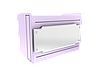 Прилавок нейтральный угловой внешний 90 градусов LU10 Steel 90, фото 7