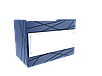Прилавок нейтральный угловой внешний 45 градусов LU10 Steel 45, фото 3