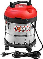 Строительный пылесос ЗУБР ПУ-30-1400 М3, МАСТЕР, модель М3-30, 30 л, 1400 Вт, сухая и влажная уборка, фото 2