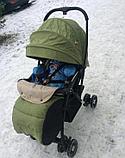 Коляска прогулочная  Alis JETTA зеленый, фото 4