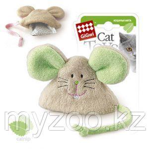 GigWi, ГигВи Мышка с кошачьей мятой. 8 см