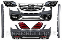 Комплект рестайлинг обвеса Mercedes-Benz W222 S63 AMG 2018-, фото 1